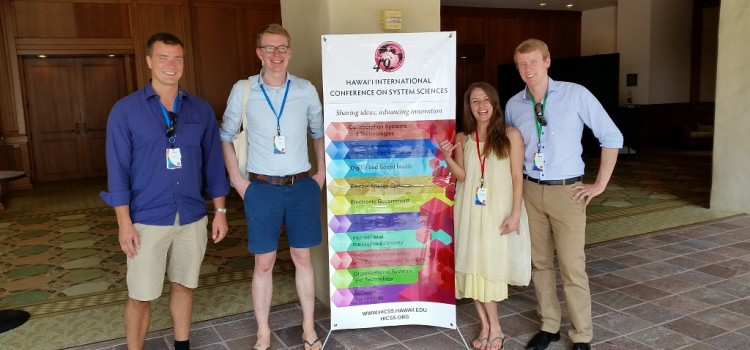 "Vorträge und Vorsitz eines Mini-Tracks durch das Team ""Wertschöpfungssystematik"" auf der International Conference of System Science (HICSS-49) auf Kauai, Hawaii"