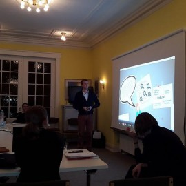Guest Lecture zum Thema Wertschöpfungs- und Wissensmanagement im Rahmen des Weiterbildungsmasters Führung in der Medizin