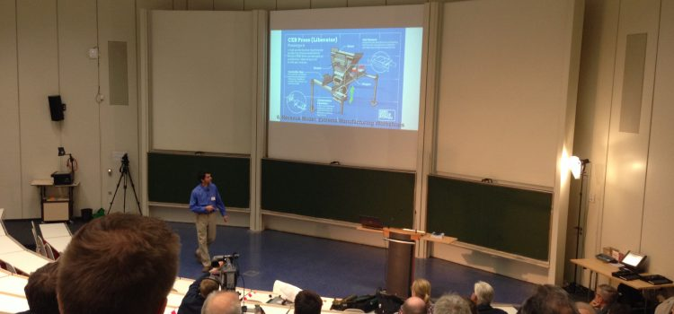 WGP-Jahreskongress mit Marcin Jakubowski (Open Source Ecology) und Wolfgang Bern (Local Motors)
