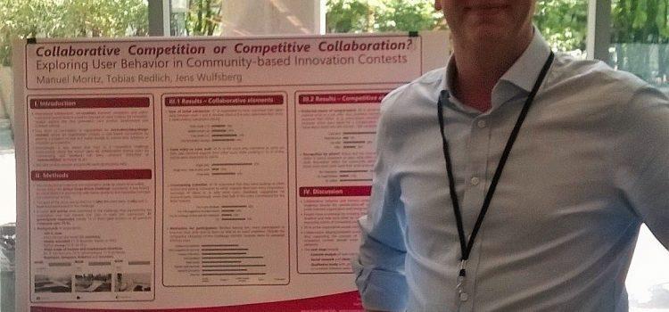 AG Wertschöpfungssystematik auf der 5th Collective Intelligence Conference/New York