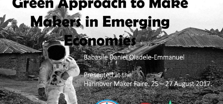 AG Wertschöpfungssystematik auf der Maker Faire Hannover